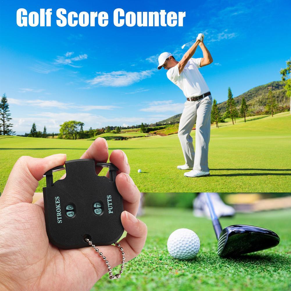 Счетчик очков в гольф Golf Putt, счетчик очков с двумя цифрами, записывающее устройство, счетчик очков, вспомогательное средство для тренировки ...