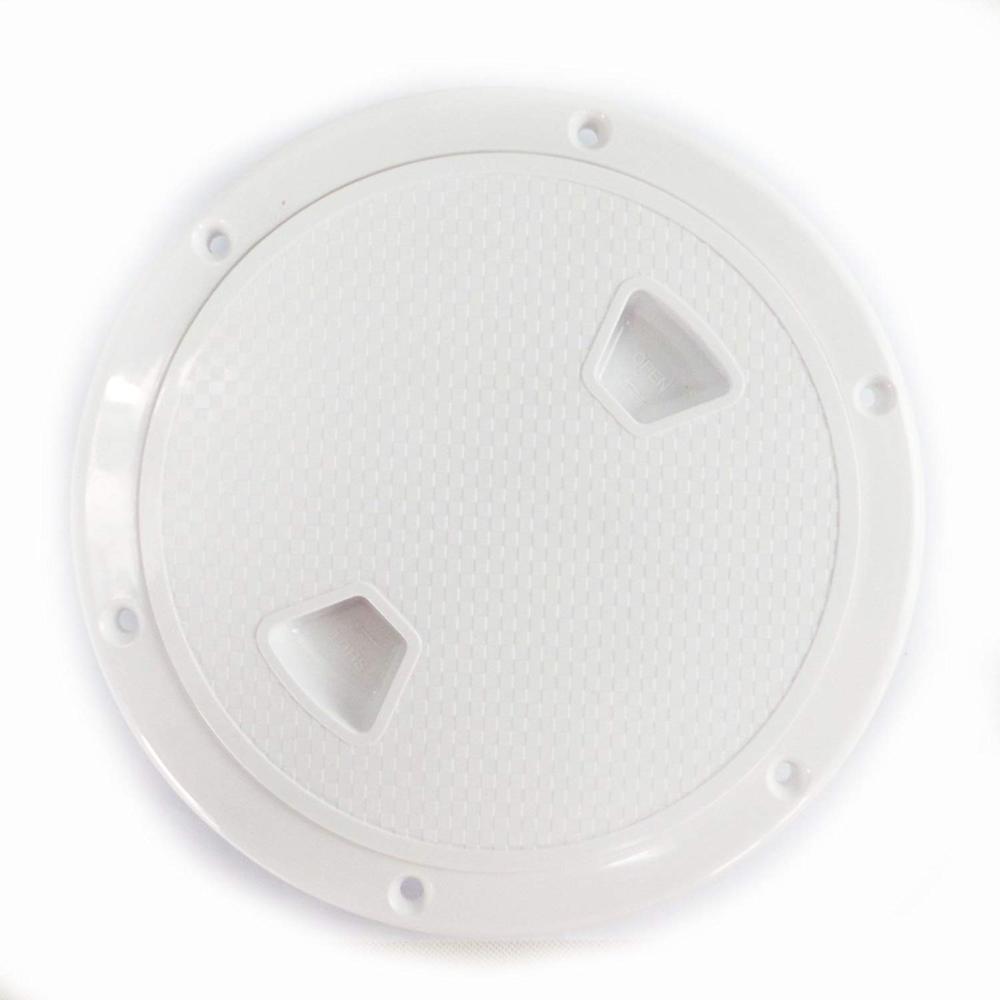 """6 """"bote redondo escotilla de inspección antideslizante con cubierta desmontable 101mm"""