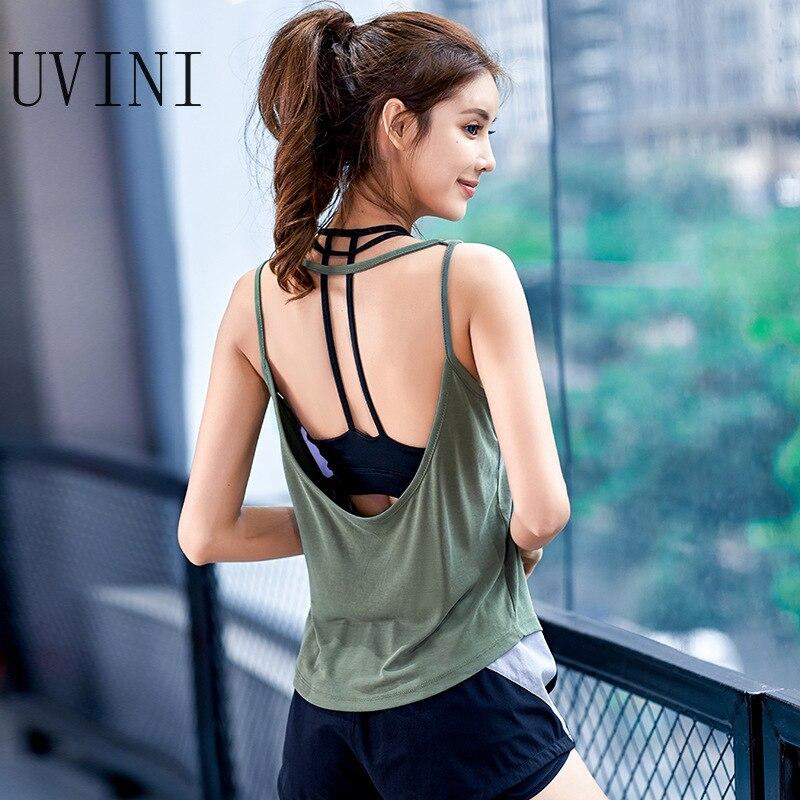 Camiseta de Yoga para mujer chaleco deportivo gimnasio sin mangas camisetas sin mangas Camiseta deportiva para mujer ropa deportiva para correr Camisetas sin espalda ropa deportiva