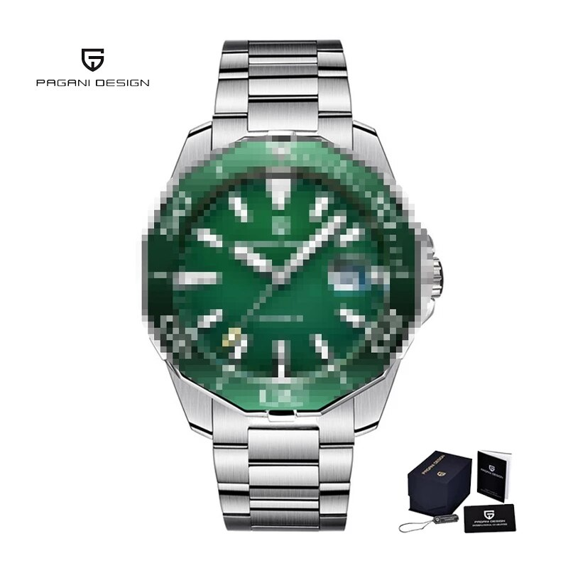 PAGANI DESIGN 2021new Men's Automatic Mechanical Watch Sapphire Luxury Sports Business Men's Watch Diving Watch Quartz Watches