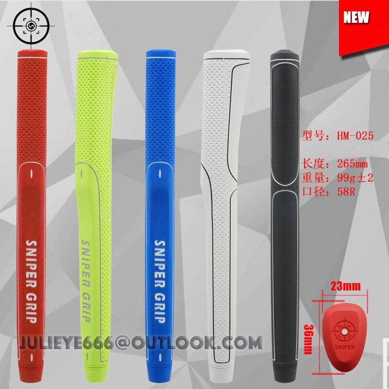 2017 newest red white black colors mountain New Golf Putter Grip Non-Slip Rubber Grips Red / Light Green / Blue / White / Black 5 Colors