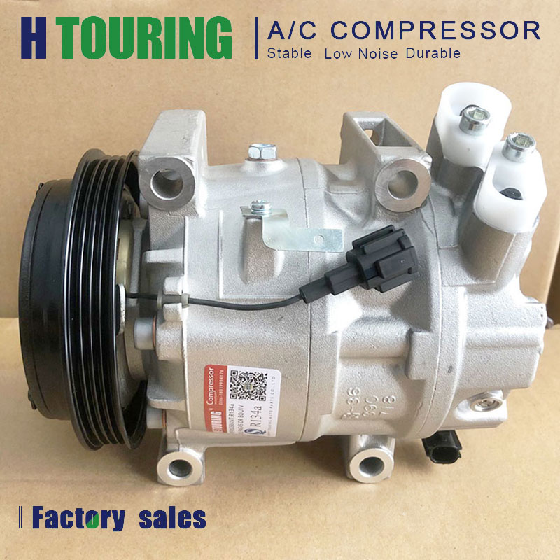 CALSONIC CWE618 Авто AC компрессора кондиционера для Nissan Elgrand 2.5L 1997-2005 3U130-45010 92600-WL80A 92600-WL000 3U13045010 4PK 12V