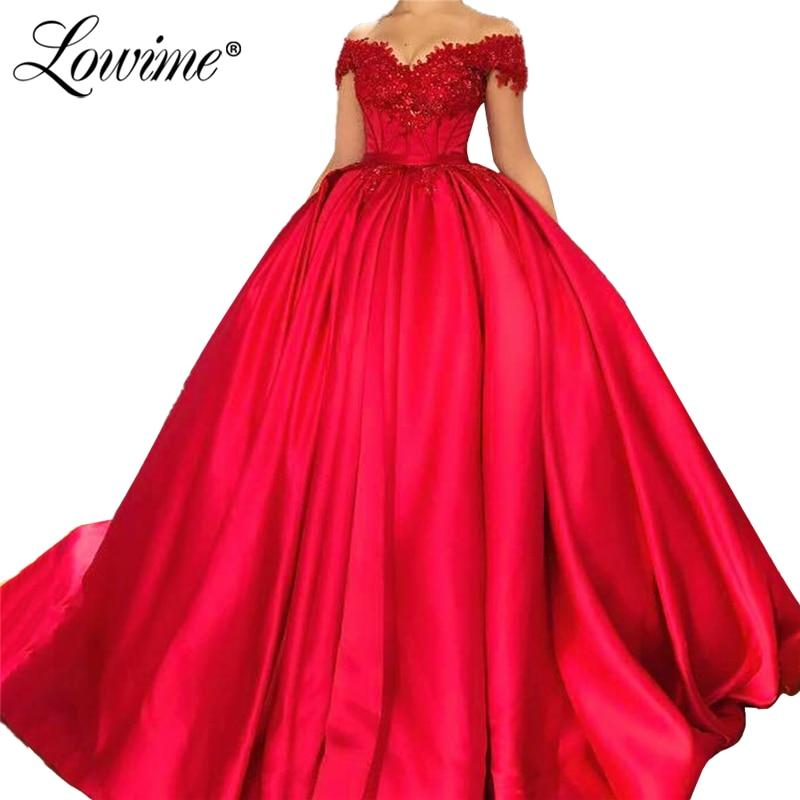 Formal Prom Dresses Ball Gown Appliqued Party Dress 2020 Custom Made Formal Dresses Women Robes Kaftans Vestidos De Soiree