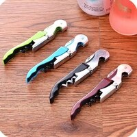 home kitchen tools corkscrew bottle openers multi colors double reach wine beer bottle opener lx8566