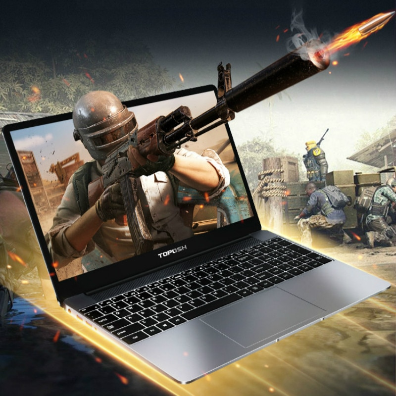 15.6 Inch i7-8550U 16G RAM Laptop 8th Generation i7 CPU GeForce MX150 Metal Gaming Notebook Business Office Portable SSD Netbook