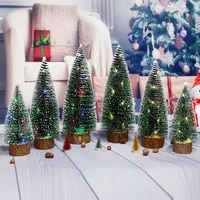 1pc led christmas tree christmas festival party room table outdoor garden hanging ornaments for new year 2022 party gifts decor