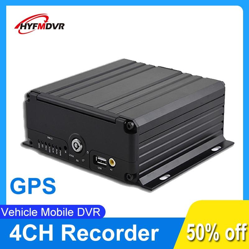 GPS MDVR 1080P 720P 4 canaux voiture Bus camion enregistreur vidéo Mobile DVR