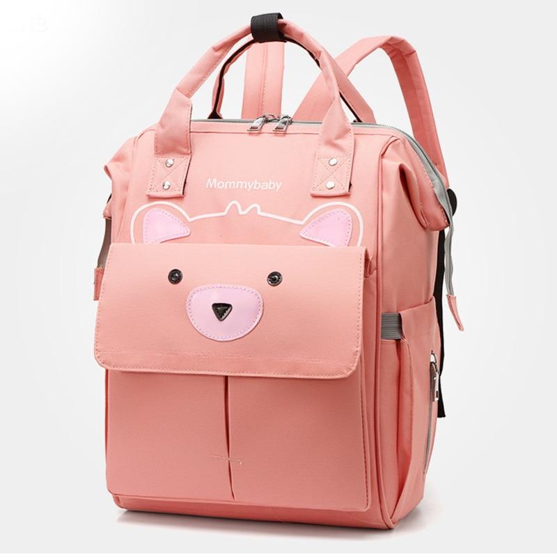 Fashion Mummy Maternity  Diaper Bags Large Capacity Backpack Nursing Bag for Babies Care Diaper Bag Women's Fashion Bag