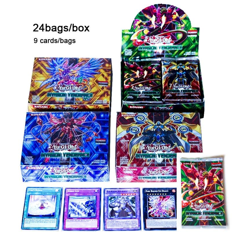 Tcg japão anime yu gi oh baralho inglês cartão 24 216 jogo de tabuleiro luta yugioh duelo cartões mesa brinquedos para crianças coleções