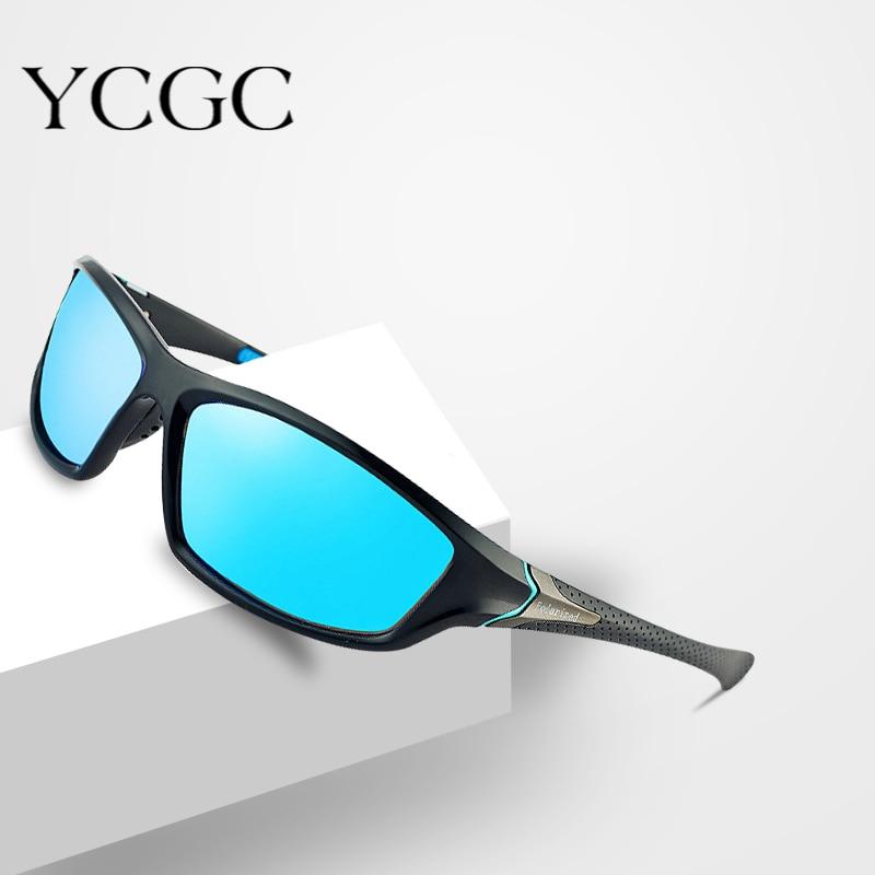 Мужские солнцезащитные очки с поляризацией, черные солнцезащитные очки в винтажном стиле для вождения, брендовые дизайнерские очки для пут...