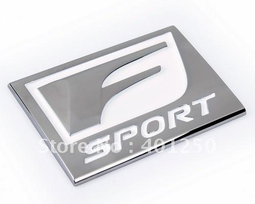 1X F-SPORT трехмерная эмблема 3d эмблема-наклейка на автомобиль украшение автомобиля знак наивысшего качества стайлинга автомобилей