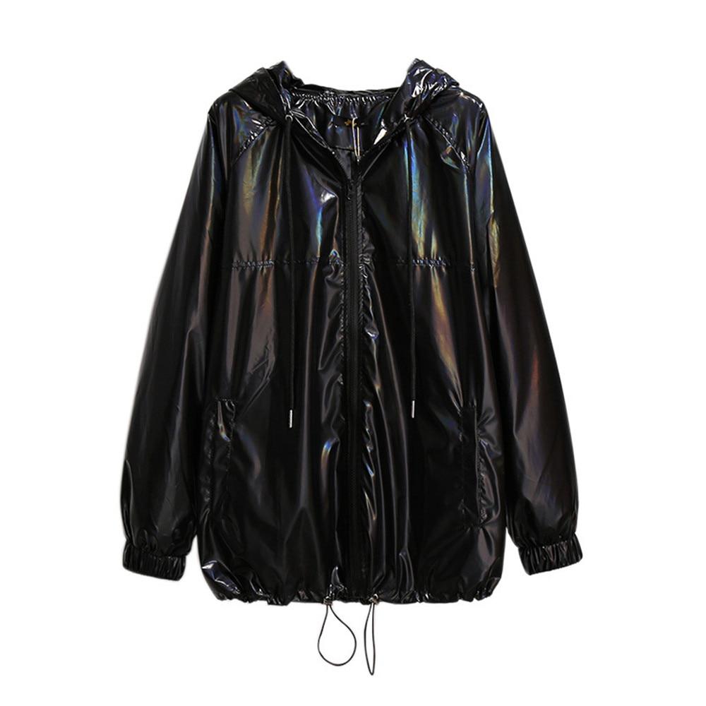 Hodisytian 2021 الخريف المرأة خندق معطف عادية بلون مزدوجة الصدر سترة طويلة سترة واقية الإناث ملابس خارجية حجم كبير