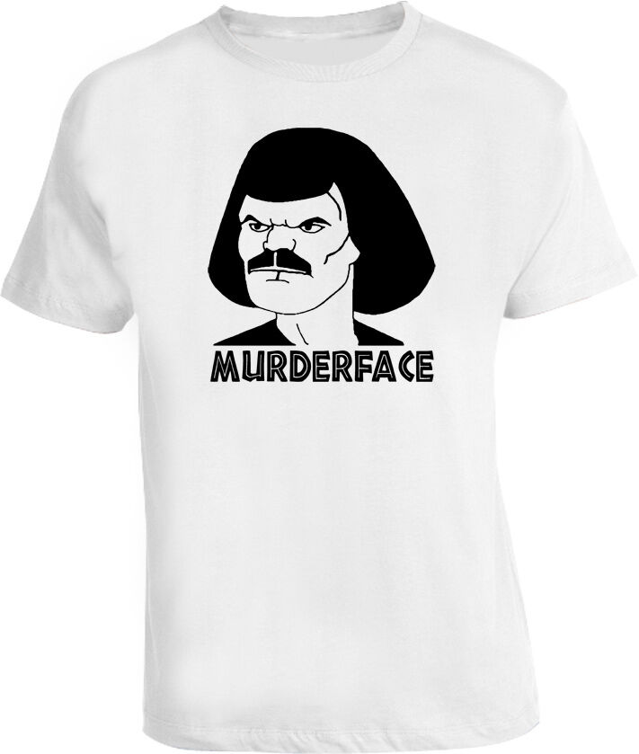 Camiseta divertida de Metalocalypse con programa animado de William Murderface Dethklok