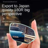 car blind spot auxiliary mirror rear view mirror small round mirror 360 degree blind spot mirror wide angle auxiliary mirror