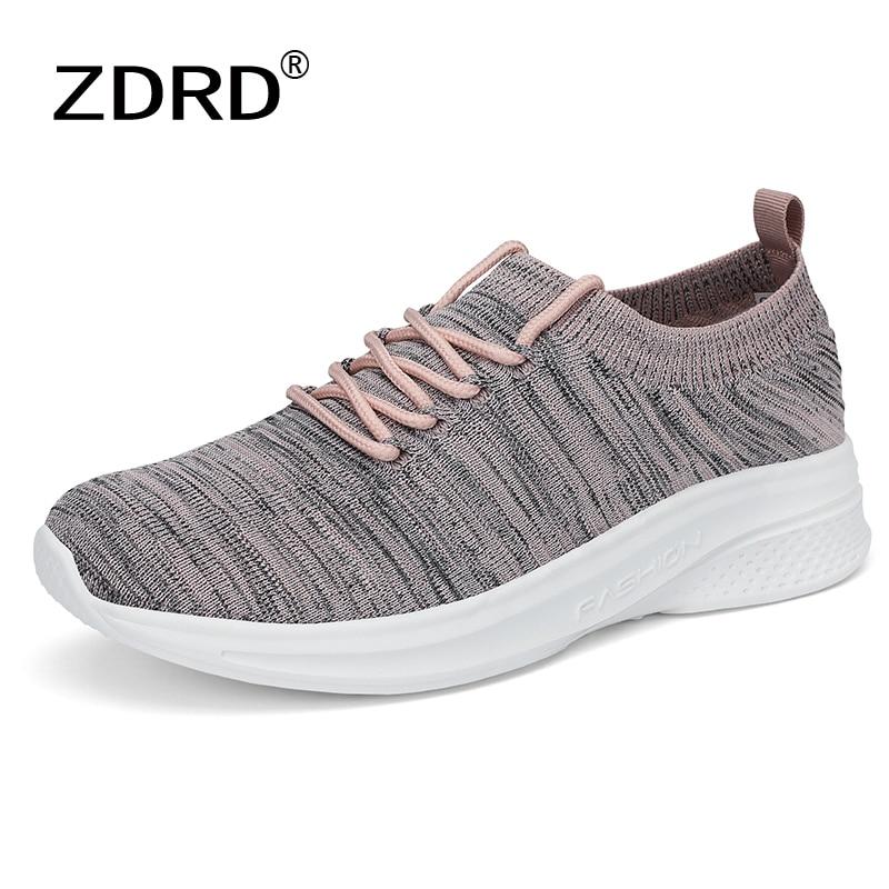 Women's Sneakers Spring Ladies Flat Shoes Casual Women Vulcanized Women 2021 Summer Light Mesh Breat