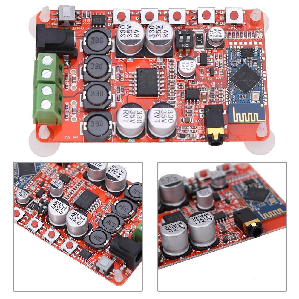 Numérique TDA7492P sans fil Bluetooth 4.0 amplificateur carte Audio récepteur DC 8 ~ 25V 50W + 50W amplificateur carte composant L3FE