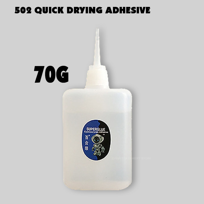 1pcs 502 Super Glue Instant Quick Dry Cyanoacrylate Strong Adhesive Quick Bond Leather Rubber Metal Office Supplies Fast Glue 1pcs 502 super glue instant quick dry cyanoacrylate strong adhesive quick bond leather rubber office supplies fast glue dropship