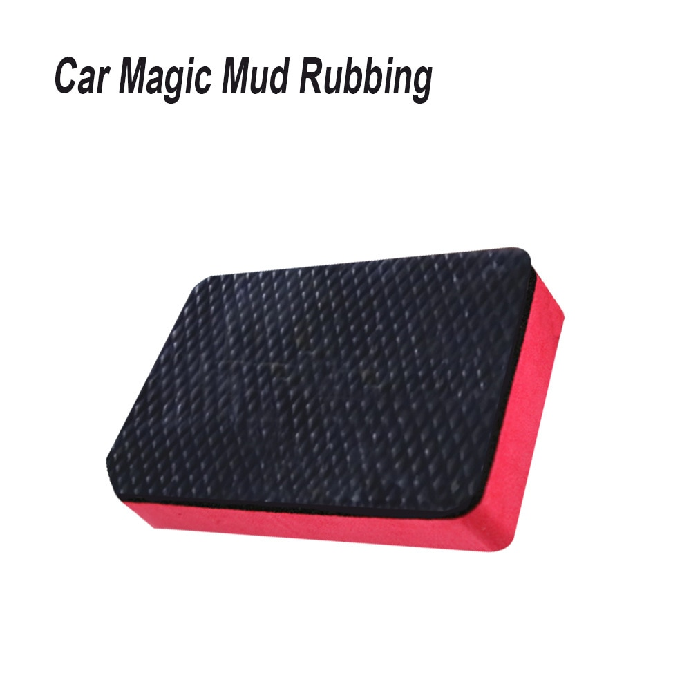 New Car Magic Clay Bar Pad Sponge Block Cleaning Eraser Wax Polish Pad Tool Car Wash Sponge Auto Cleaning Tool Car Accessories