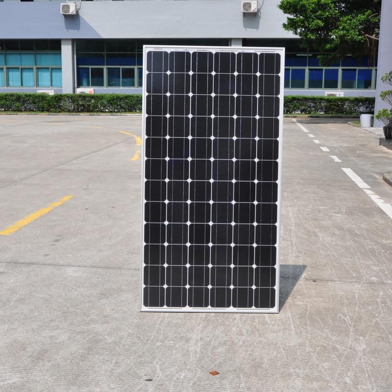 Panel Solar monocristalino, 36v, 300w, 8 Uds., módulos, 2400w, 2,4 kW, sistema de 220v, sin conexión, techo de red para exteriores, resistente al agua
