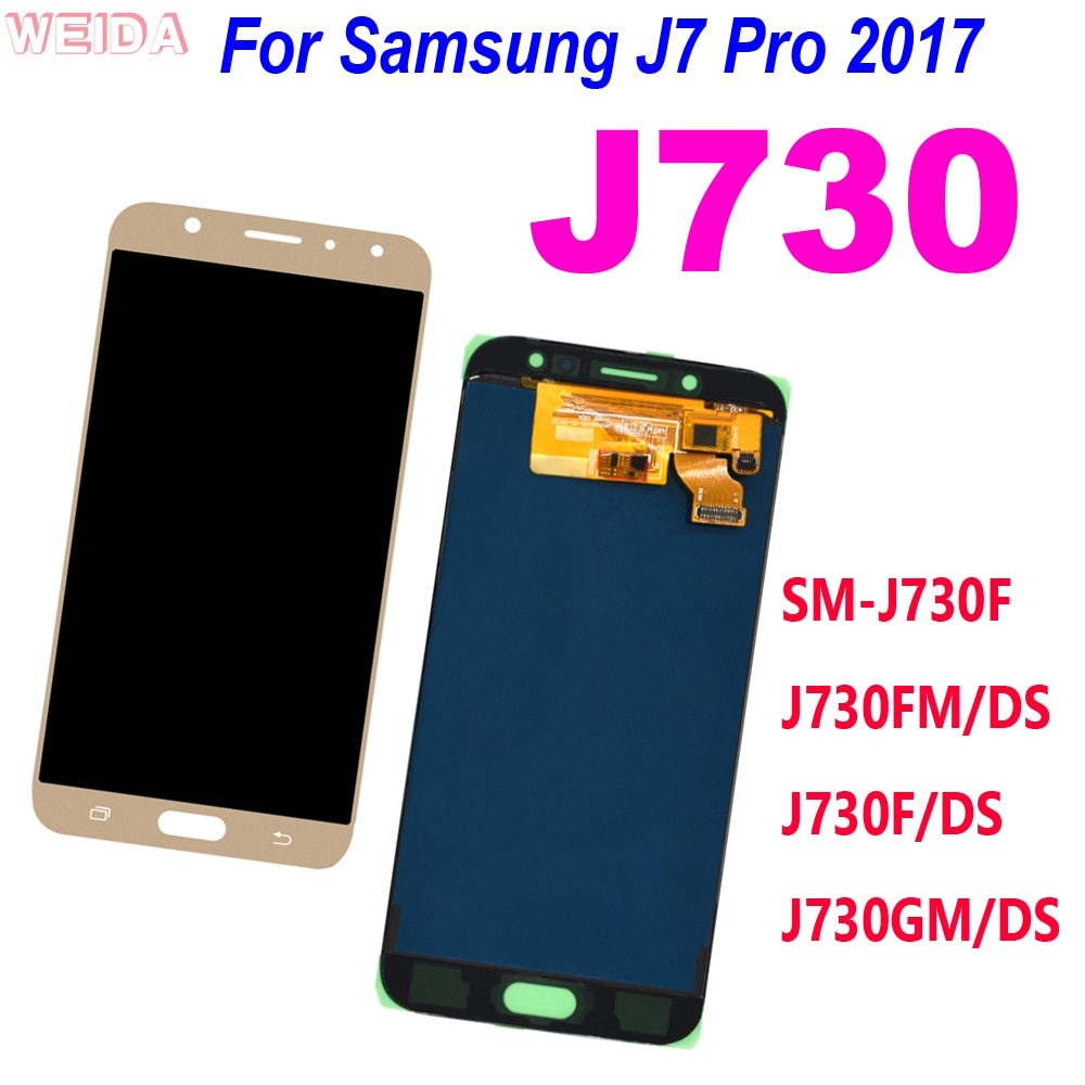 AliExpress - 5.5″ for Samsung Galaxy J7 Pro 2017 J730 SM-J730F J730FM/DS J730F/DS LCD Display Touch Screen Digitizer Assembly for J730 LCD