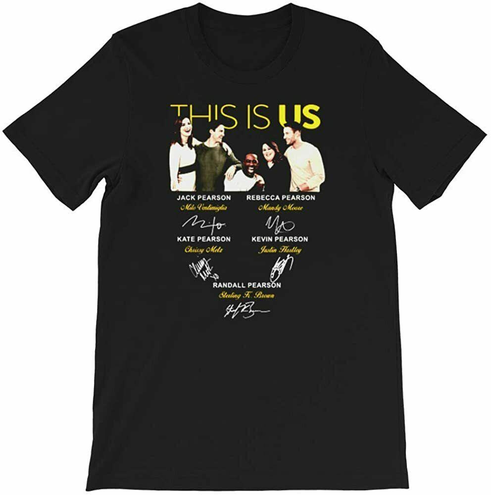 Esta es la camiseta divertida de Rebeca Jack Kevin Kate