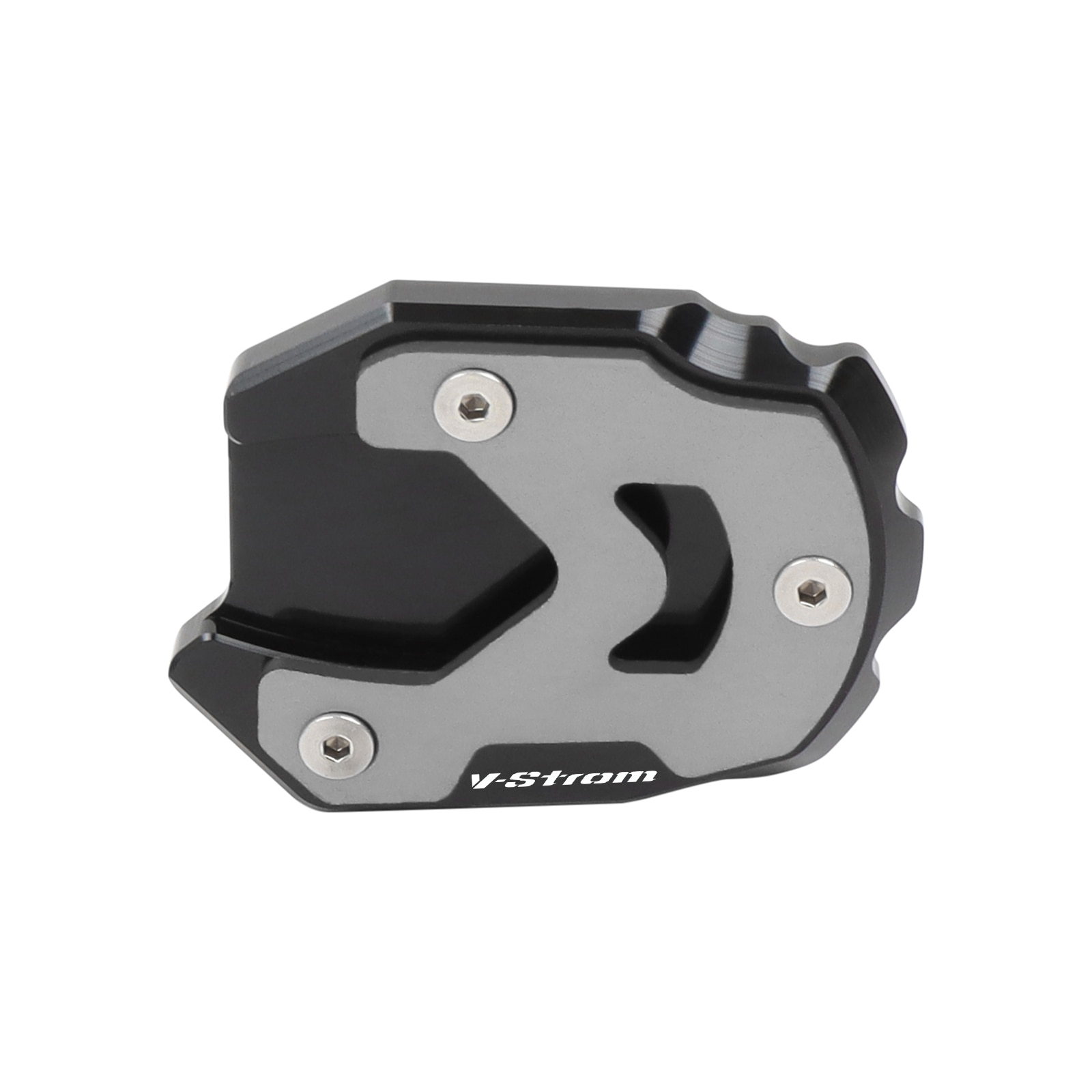 For Suzuki V-Strom 1050 DL1050XT 1000XT GSX-S 750 1000S/1000F GSR 750 CNC Foot Side Stand Enlarger Kickstand Plate Pad Extension