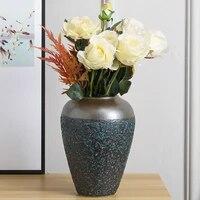 modern home decor handmade vintage old flower porcelain vase for dining table office wedding living room pottery