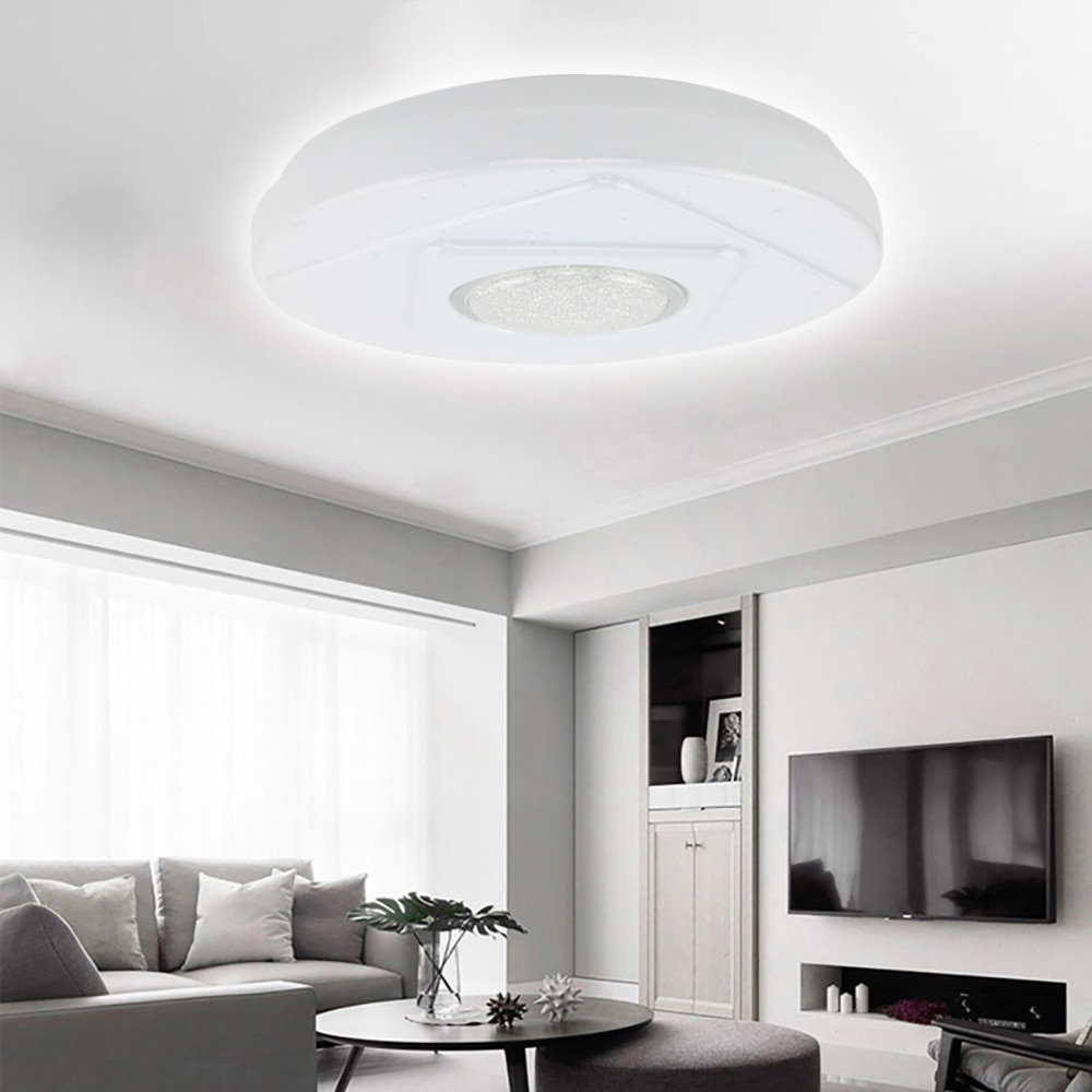 VIPMOON Modern Design Surface Mounted For Daily Lights LED Chips 18w AC220V White Round LED Ceiling Light