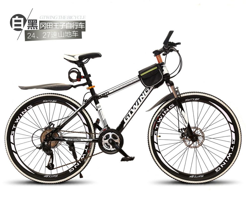 אופני הרים 21 מהירות מכאני בלמי דיסק 26 אינץ משתנה מהירות כונן אופניים זכר ונקבה סטודנטים רכיבה על אופניים