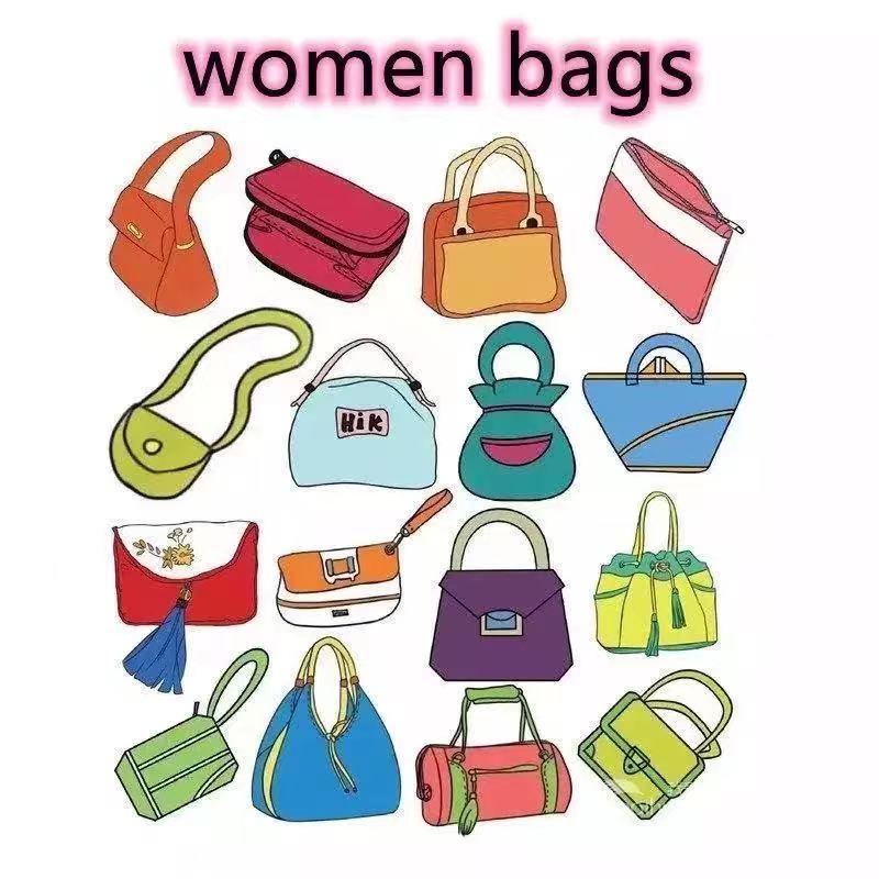 B49 Luxury handbag ladies leather shoulder bag, female bag brand designer fashion large-capacity han