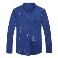 spring summer mens stripe pattern casual fashion long sleeve shirts