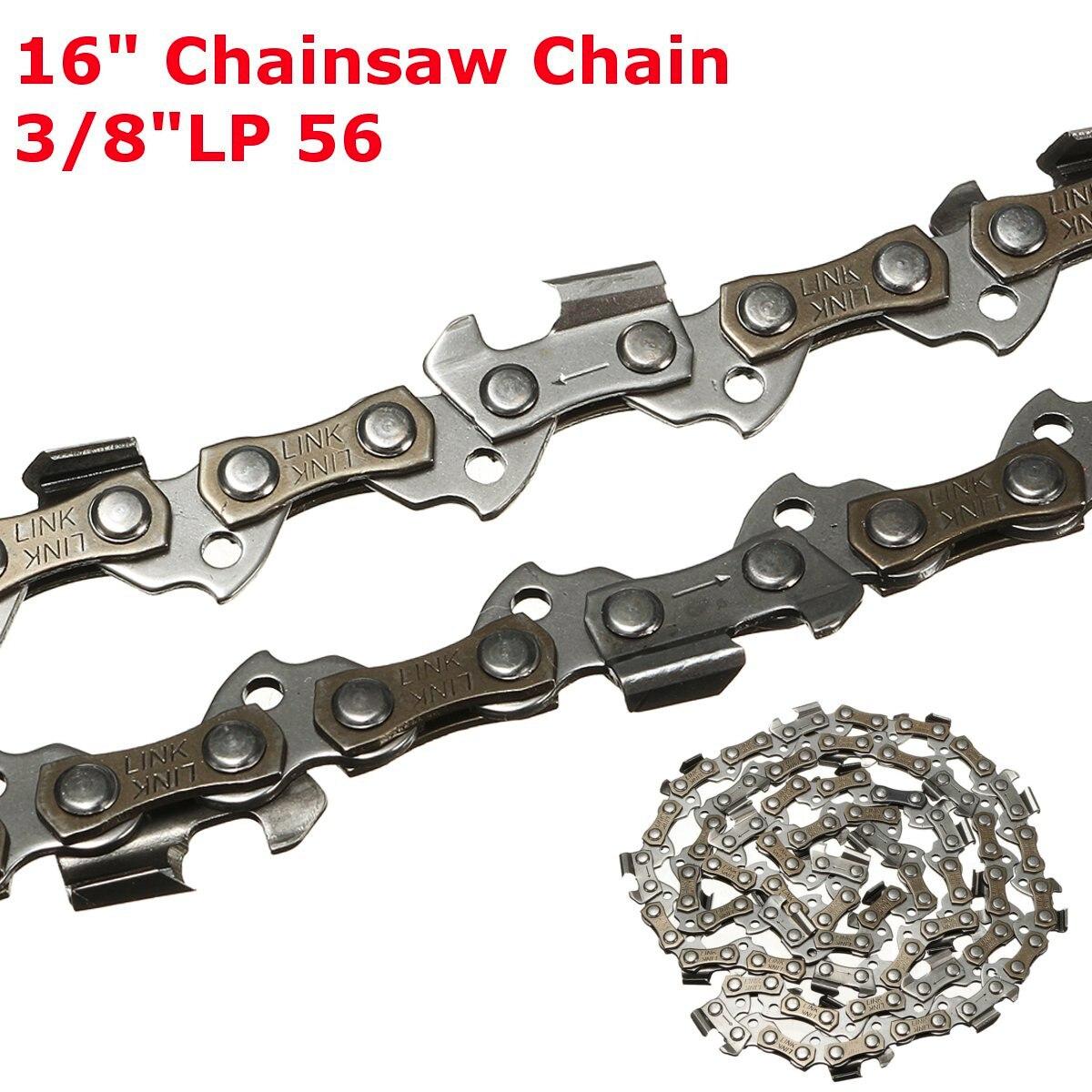 16 chainsaw chainsaw chainsaw saw chain blade pitch 3/8 lp lp lp 0.050 56dl lâmina de serra correntes de corte de madeira motosserra acessório para genérico