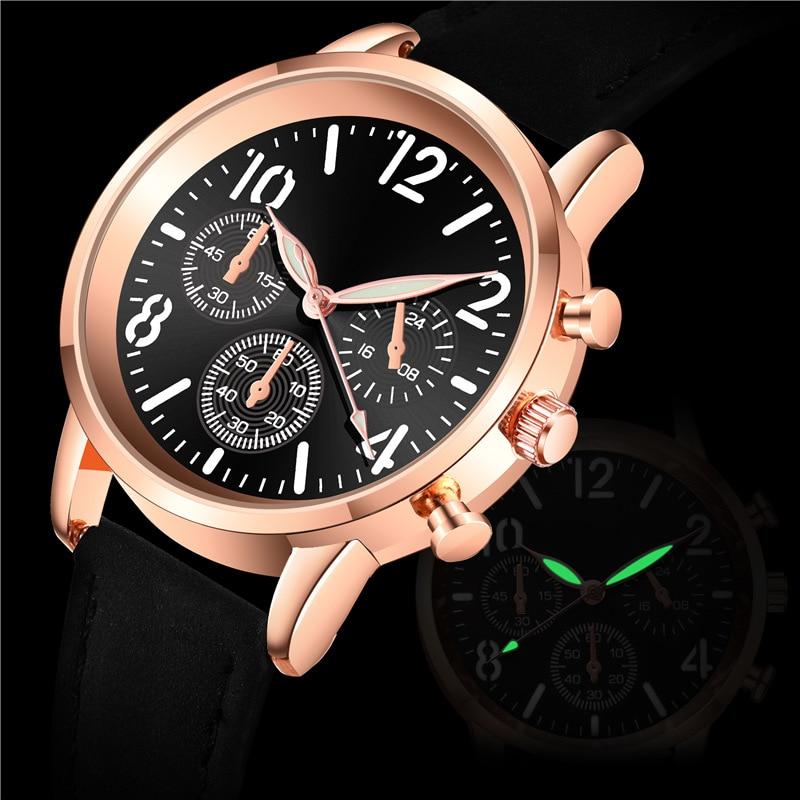 WOKAI NEW Watch Women Fashion Casual Leather Belt Watches Simple Ladies' Small Dial Quartz Clock Dre