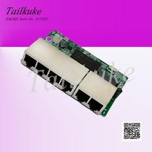Mini commutateur dalimentation forcée 4 ports 12V-53V commutateur POE Module de commutation Hub