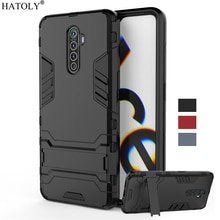 For Oppo Realme X2 Pro Case Cover Armor TPU Rubber Shell Hard PC Back Cover For Realme X2 Pro Phone Case For Realme X2 Pro Funda