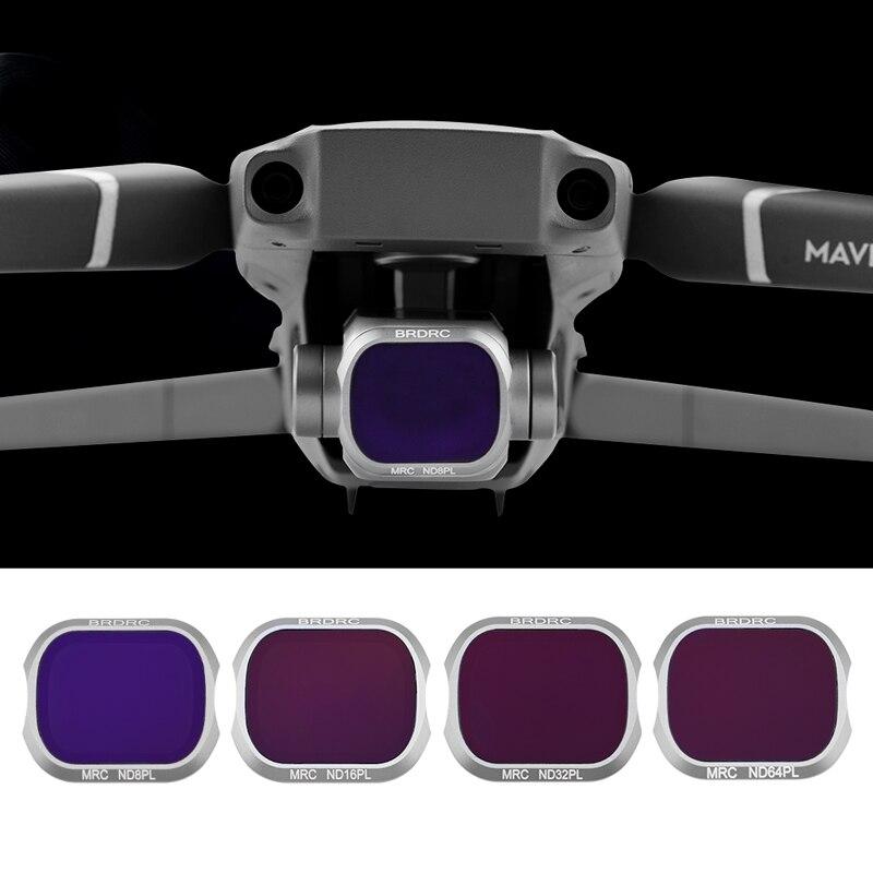 Фильтр для объектива ND8 PL/ND16 PL/ND32 PL/ND64 PL для дрона DJI Mavic 2 Pro