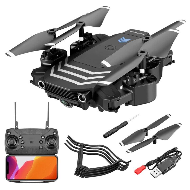 Dron plegable teledirigido con cámara 4K HD para niños, de flujo óptico...