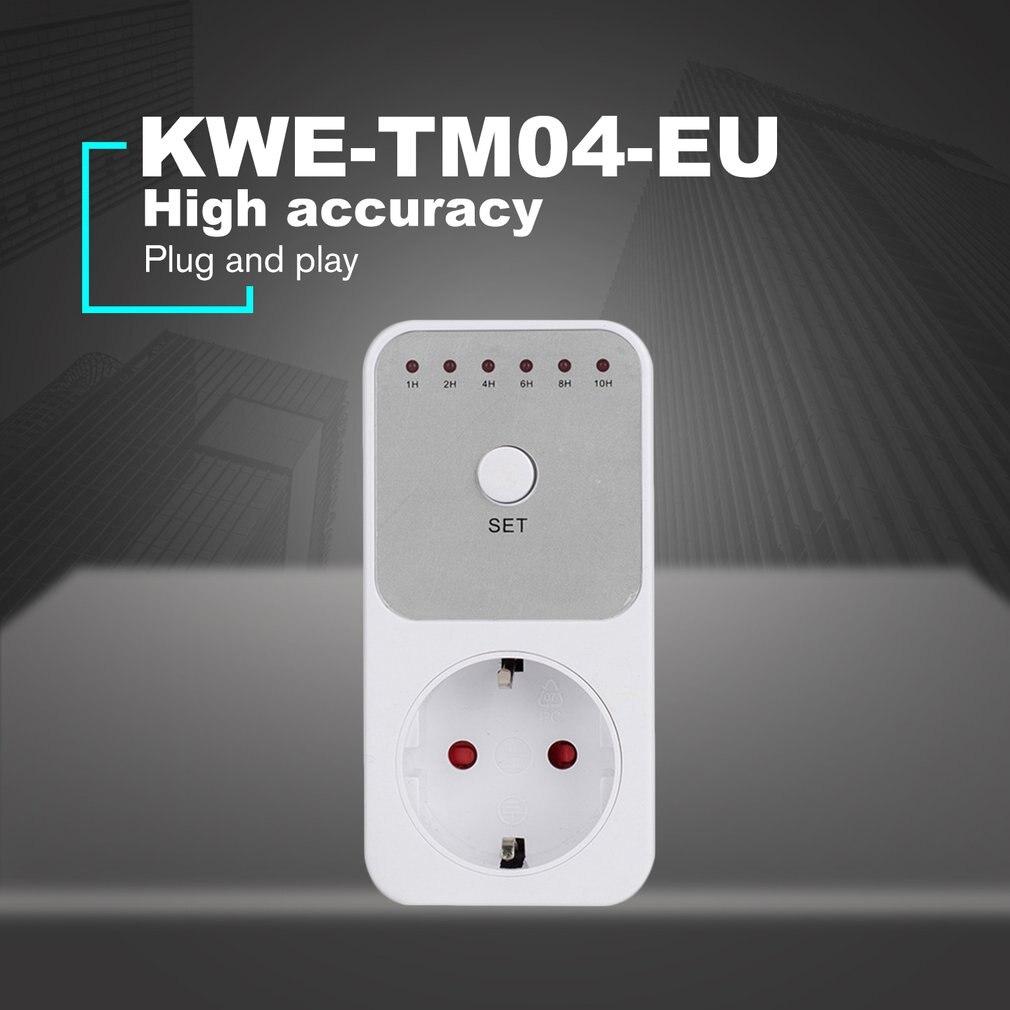 Mini LED 120V 15A 1 h-10 h cuenta regresiva temporizador interruptor toma de corriente enchufe Control de tiempo para electrodomésticos de cocina US EU AU Plug