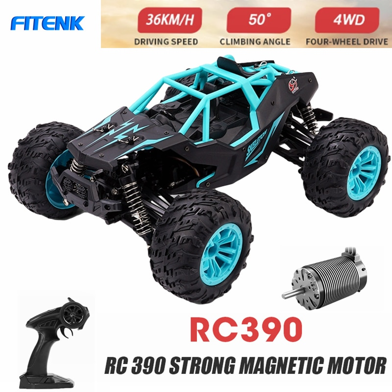 LOAR 1:14 4WD RC Car 2.4G Radio Control Four-wheel Drive High Speed Off Road Drift Racing SUV Remote Control Toys for Children