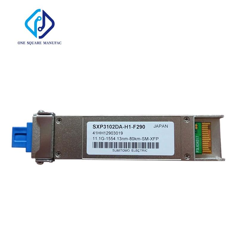 Sumitomo SXP3102DA-H1-F290 11,1G-1554.13nm-80KM-XFP волоконно-оптический приемопередатчик