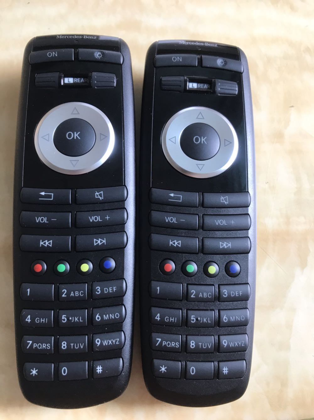 وحدة التحكم عن بعد E300L من مرسيدس بنز الفئة S الفئة E GLGLS MLR
