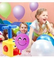 kinderen aerodynamische ballon auto puzzel wetenschap onderwijs kinderen inerti%c3%able auto kindje opblaasbare bal speelgoed gift