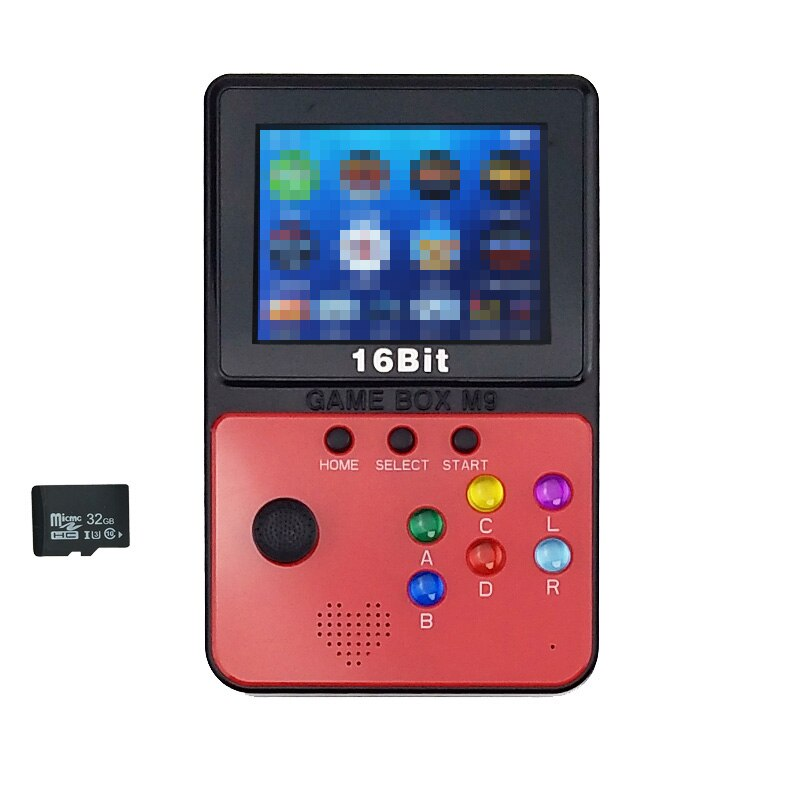 Mini Arcade Video Games Console With 4G TF Card 900 Games For nessnesgbamdmame Games Download Joystick TV Out