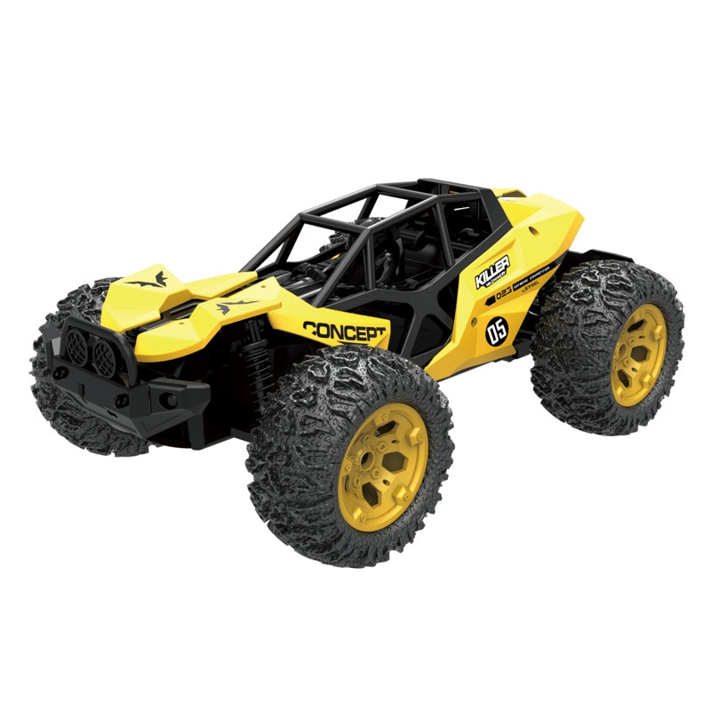RC Car 1:16 Big Wheel Car Monster Truck Electric Remote Control car USB Recharge Climbing Off-road Vehicle For    KidsToy enlarge