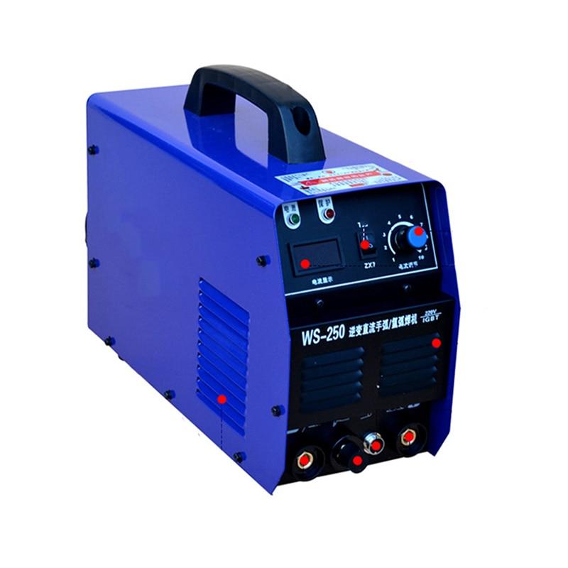 WS-250 Inverter dc stainless steel 220v Manual welding/argon arc welding machine welder enlarge