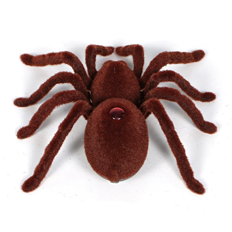 Hot Sale 2020 Kid Halloween Gift Remote Control Scary Super Realistic Spider Infrared RC Spiders Children Toy Decoration enlarge