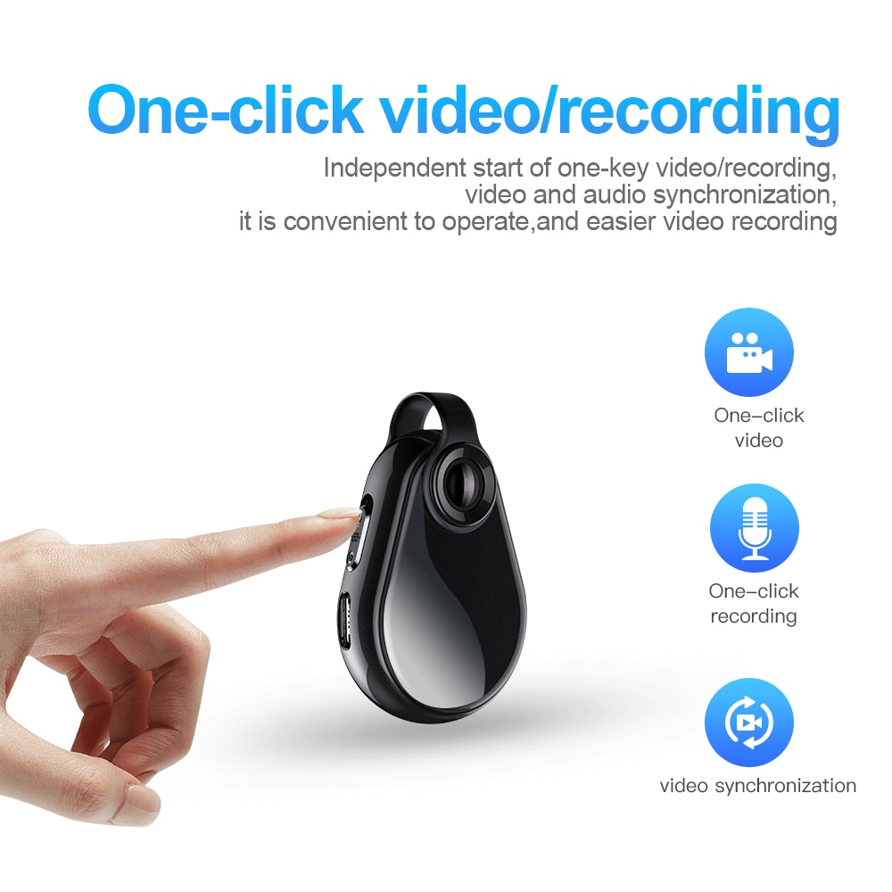 Activated Recorder 128GBMini Key Chain Voice OTG Free Audio Sound Recording Device MP3 Player Lecture HD Camcorder Recorder enlarge