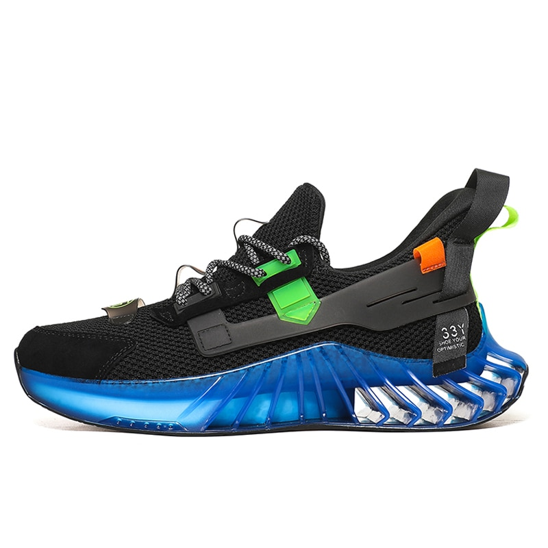 New Blade Antiskid Breathable Sport Running Shoes for Men sneakers Outdoor Training Walking Jogging shoes Male large size 46 недорого