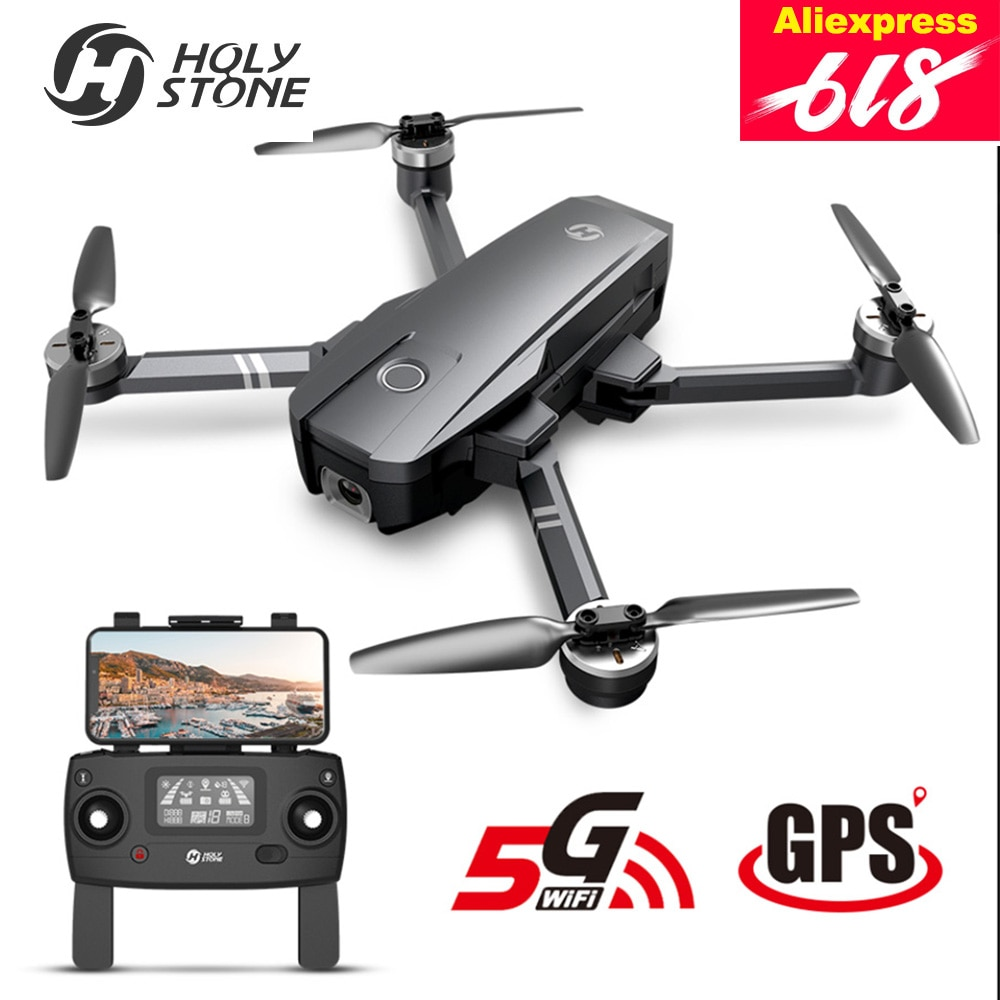 Holy Stone HS720 Upgraded 4K Drone GPS 5G FPV Wi-Fi FOV 120°Camera Brushless Quadcopter 26 Minutes