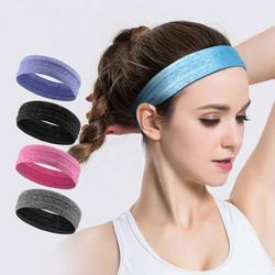 Faixa de cabelo dos esportes absorventes do suor para a aptidão running esportiva fita de cabelo moda antiderrapante esporte yoga headbands esportiva